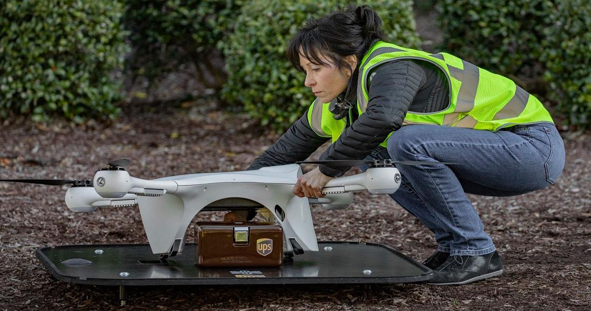 Sanità (Usa), droni consegnano campioni medici
