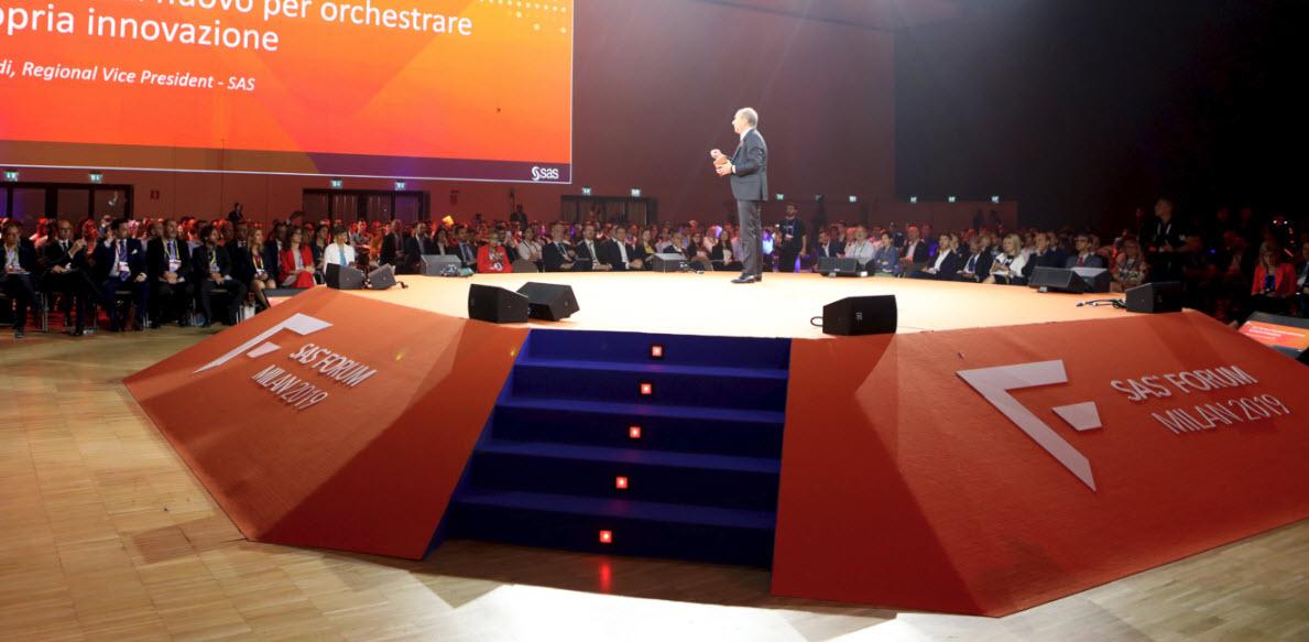 Sas Forum Milano, entriamo nell'Analytics Economy