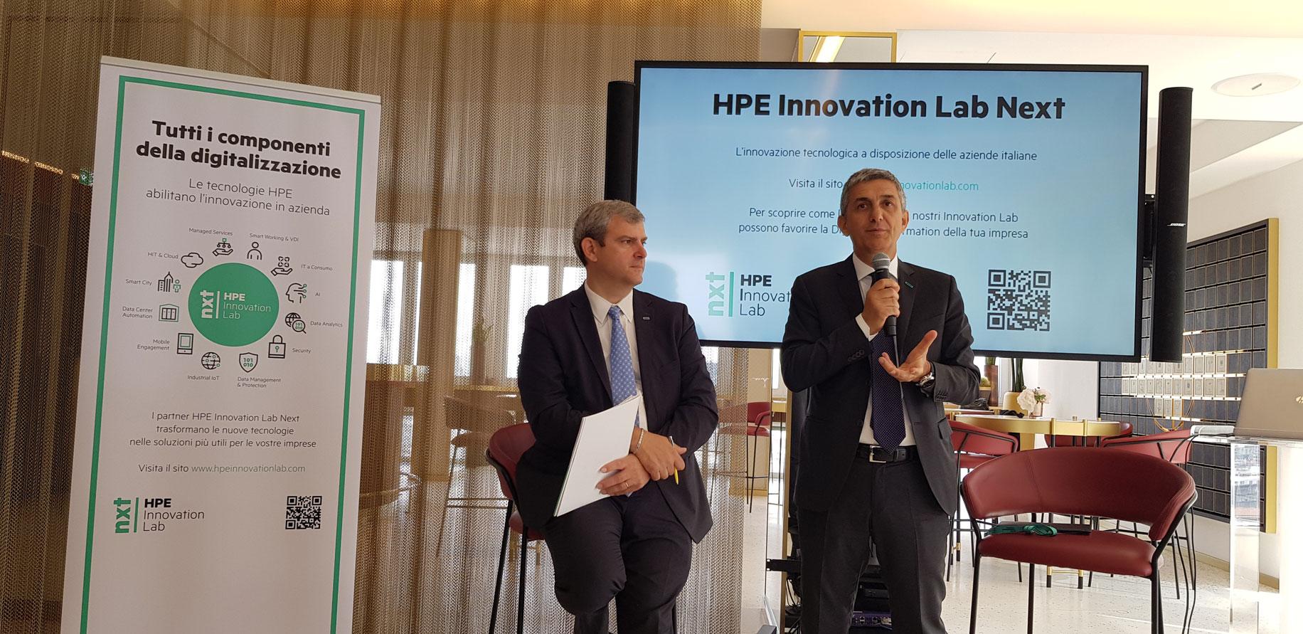 HPE Innovation Lab Next, 8 milioni di investimento