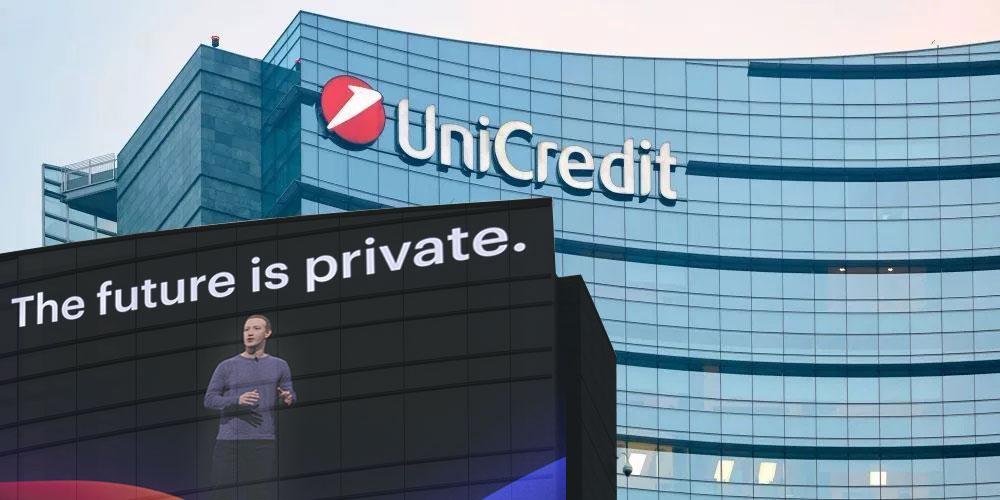 Facebook e Unicredit, il futuro sarà più privato