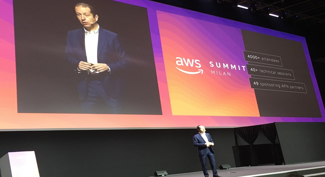 AWS Summit 2019, mosaico tecnologico per il cloud