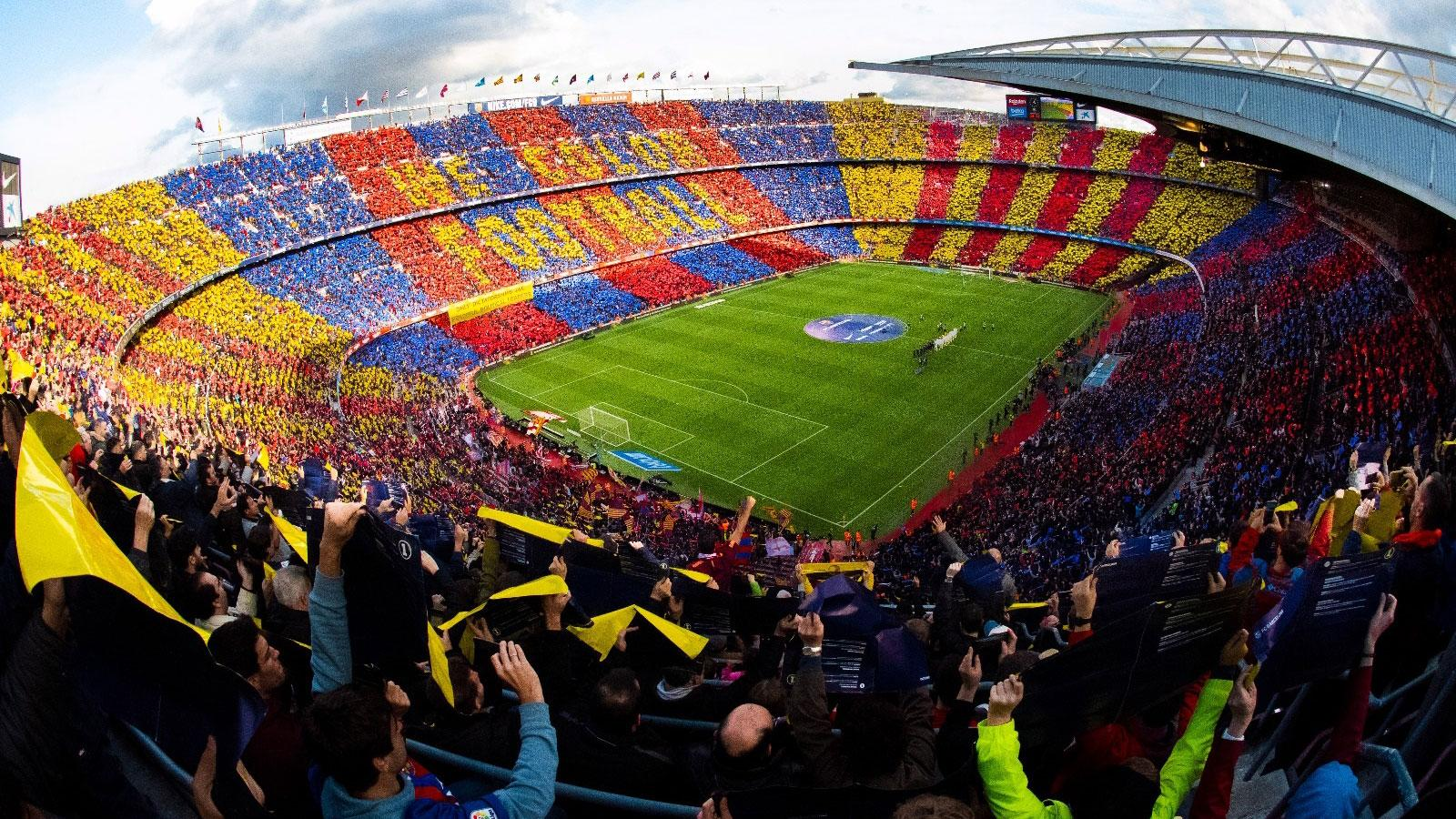 Stadio Camp Nou, 5G scende in campo