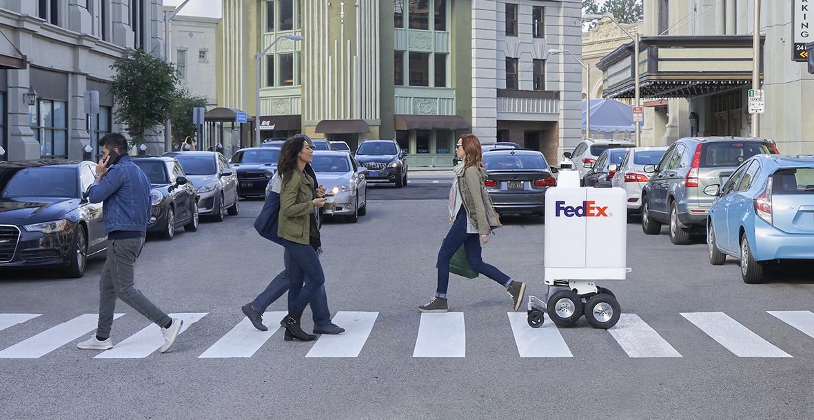 Pizza Hut e FedEx sperimentano la consegna con i robot