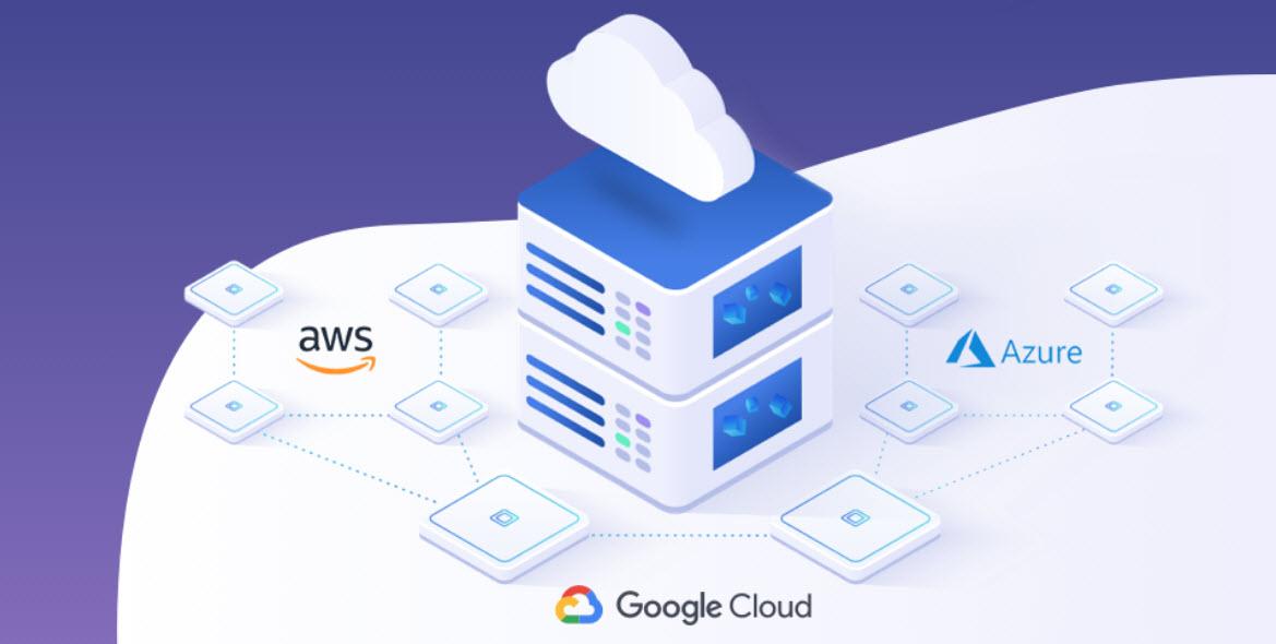 NetApp, cloud sereno con Aws, Google e Microsoft
