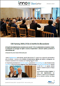 Speciale CIO Survey 2019 - SlowLetter Ottobre 2019